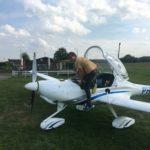 1e vlucht na examen EHGR-EBKH-EBHV